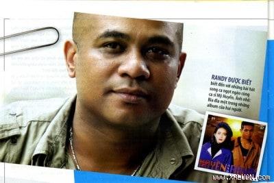 Randy - Ca sĩ hải ngoại - Tuổi thơ cay đắng và một cuộc đời đầy tâm sự