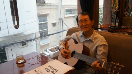 Tác giả 'Hoa mười giờ': 'Tôi không chỉ viết nhạc sến'