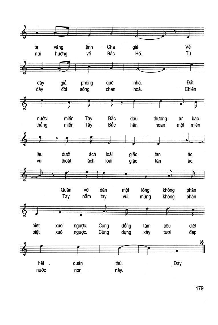 Sheet Nhạc Bai Qua Miền Tay Bắc Hợp Am Việt